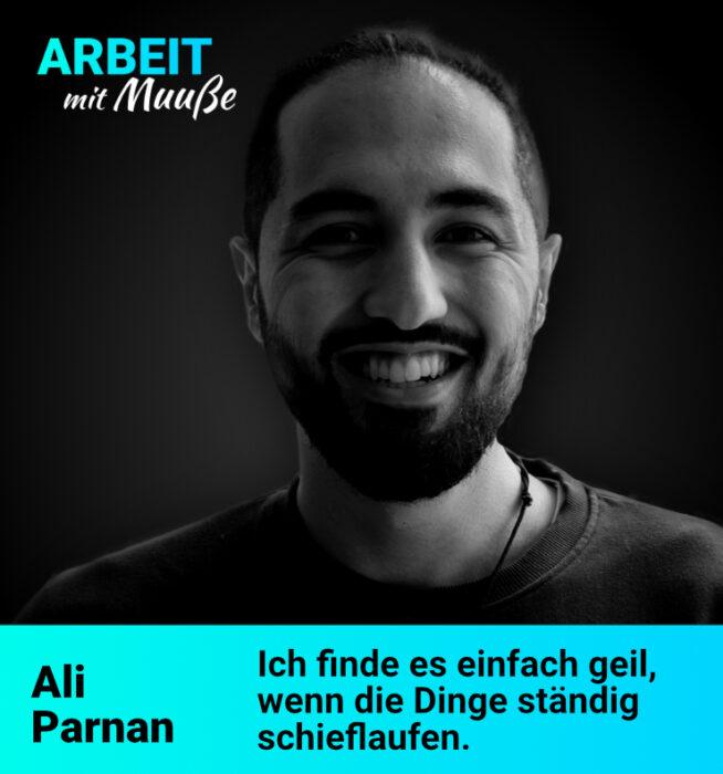 Gründer aus Lübeck Ali Parnan